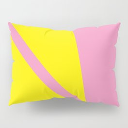 Pink Angles Pillow Sham