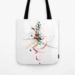 50 shades of colour Tote Bag