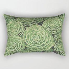 Succulents | Garden Plants Rectangular Pillow