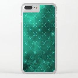 Pisces Nebula Pattern Clear iPhone Case