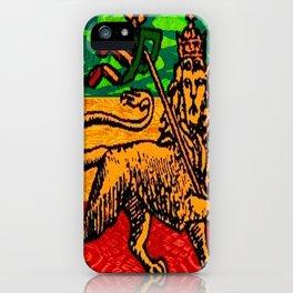 Rasta Flag iPhone Case