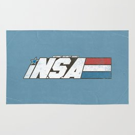 iN.S.A - iNternet Security Agency Rug
