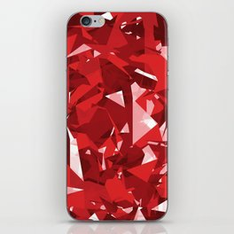 Abstract Red iPhone Skin