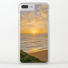 Algarve sunset Clear iPhone Case