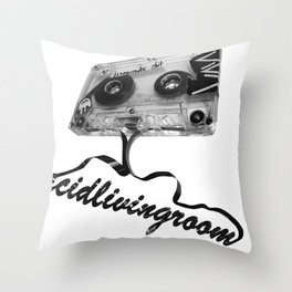 AcidLivingRoom Throw Pillow