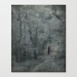 The fiddler's shadow Canvas Print
