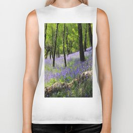 Bluebell Wood. Biker Tank
