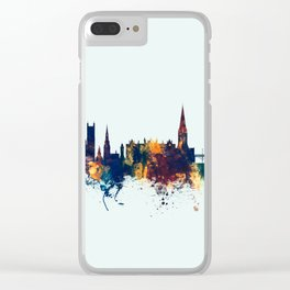 Exeter England Skyline Clear iPhone Case