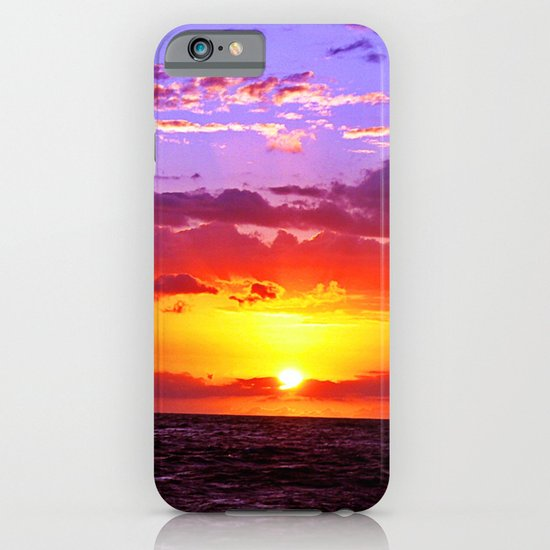 Sunset at Sea 2 - Hawaii iPhone & iPod Case