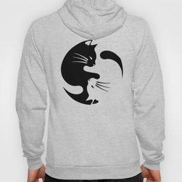 Cat ying yang Hoody
