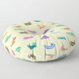 Sea slug Floor Pillow