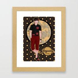 Jinyoung -Got7- Framed Art Print