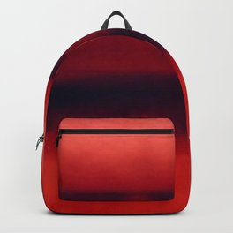 Warm Red Watercolor Abstract Backpack