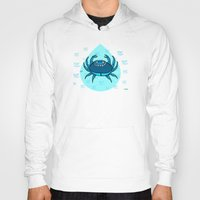 cancer Hoodies featuring Cancer by Giuseppe Lentini