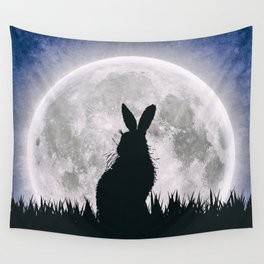 The Hare's Moon Wall Tapestry