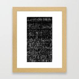 vV___glymps001 Framed Art Print