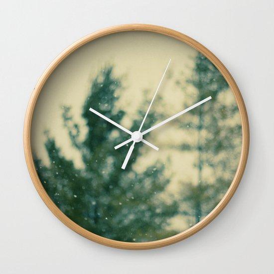 Snowday Wall Clock