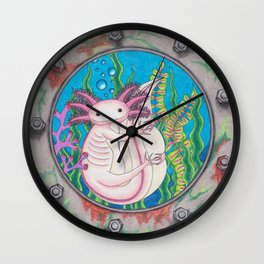 I like you Alotl! Wall Clock