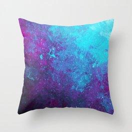 Nebula Star Birth Throw Pillow