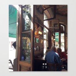ENTRADA CAFE LA POESIA ARGENTINA  Canvas Print