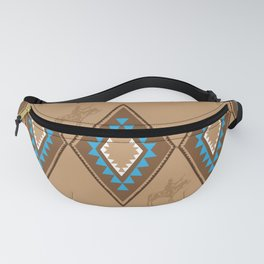 American Native Pattern No. 210 Fanny Pack