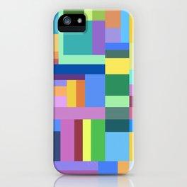 Color Burst Geometry iPhone Case