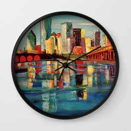 Expression Dallas Wall Clock