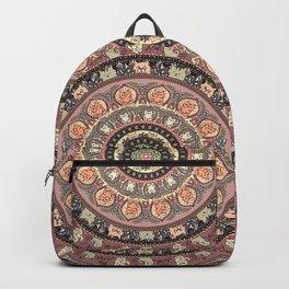 Cat Yoga Medallion Backpack