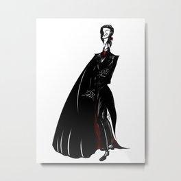 Opera Ghost Erik Metal Print