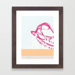 RUTSCHEBANE Framed Art Print