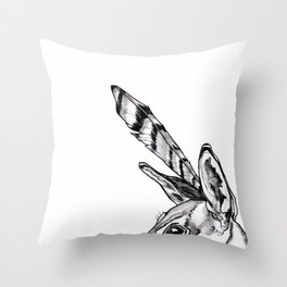 Roshambo 2 Throw Pillow