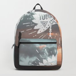 Your Vibe Attracts Your Tribe - Southwest Arizona Backpack