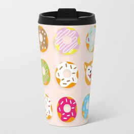 Donut Inu Travel Mug