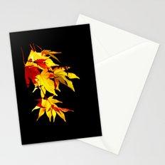 Golden Acer Stationery Cards