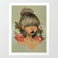 loish Art Prints featuring ambrosial by loish