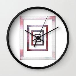 Infinite Rectangle Wall Clock