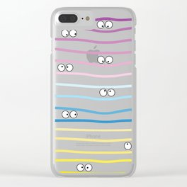 Watching you! Clear iPhone Case