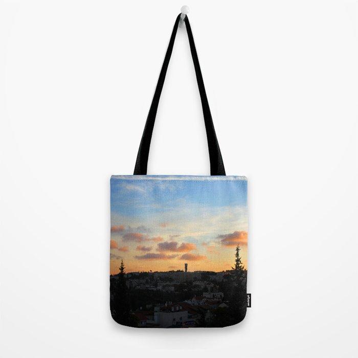 Jerusalem of Light Tote Bag