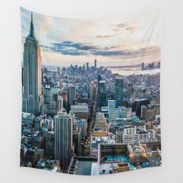 New York City (Color) Wall Tapestry
