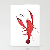 cancer Stationery Cards featuring Cancer by Rejdzy
