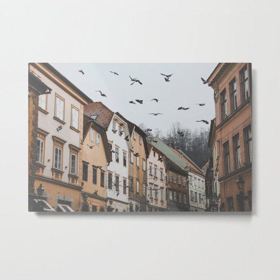 Ljubljana, Slovenia I Metal Print