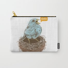 Twisty Bird Carry-All Pouch