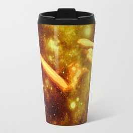 Golden Galaxy Woman : Nude Art Travel Mug