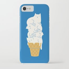 Cats Ice Cream iPhone Case