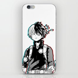 Shoto Todoroki Design iPhone Skin