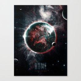 Dune Geidi Prime Planet Poster Canvas Print