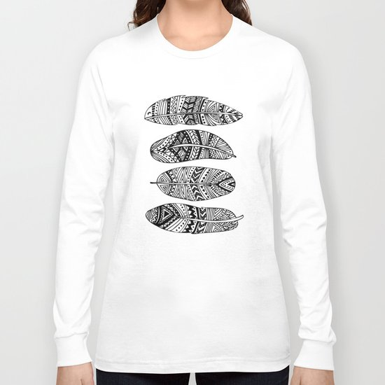 Feathers Of My Life Long Sleeve T-shirt