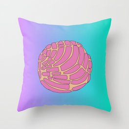 Pan Dulce ( Concha) Throw Pillow
