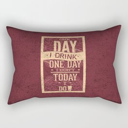 The most romantic words ever- I will do the dishes- Typography Rectangular Pillow