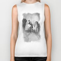 rushmore Biker Tanks featuring Rushmore at Night by Peaky40